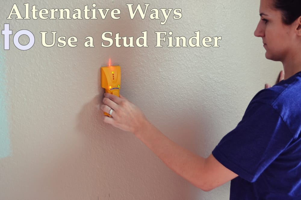 Alternative Ways to Use a Stud Finder